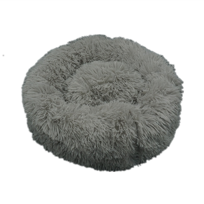 Super Soft Dog Bed Sofa Plush Cat Mat Dog Beds For Labradors Large Dogs Bed House Pet Round Cushion Best Dropshipping Wholesale Toys