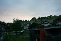 Wasserspielplatz und Seilbahn