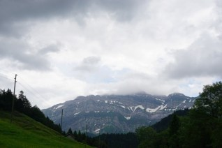 Säntisblick (leider mit Wolken)
