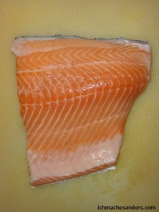 Lachs roh