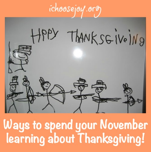 Ways to Spend Your November Learning about Thanksgiving