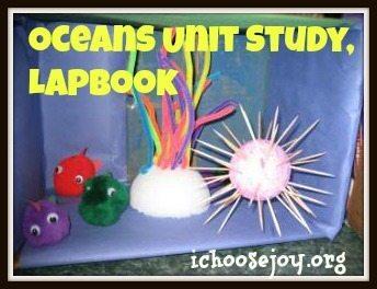 Oceans Unit Study & Lapbook