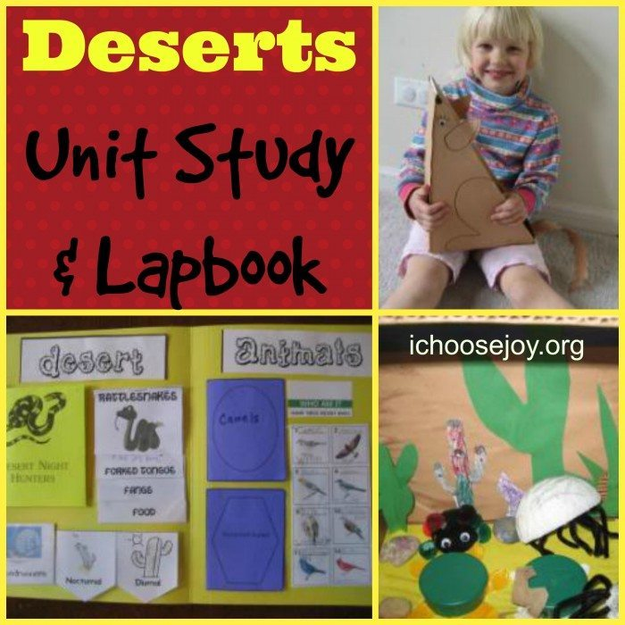 Deserts Unit Study & Lapbook