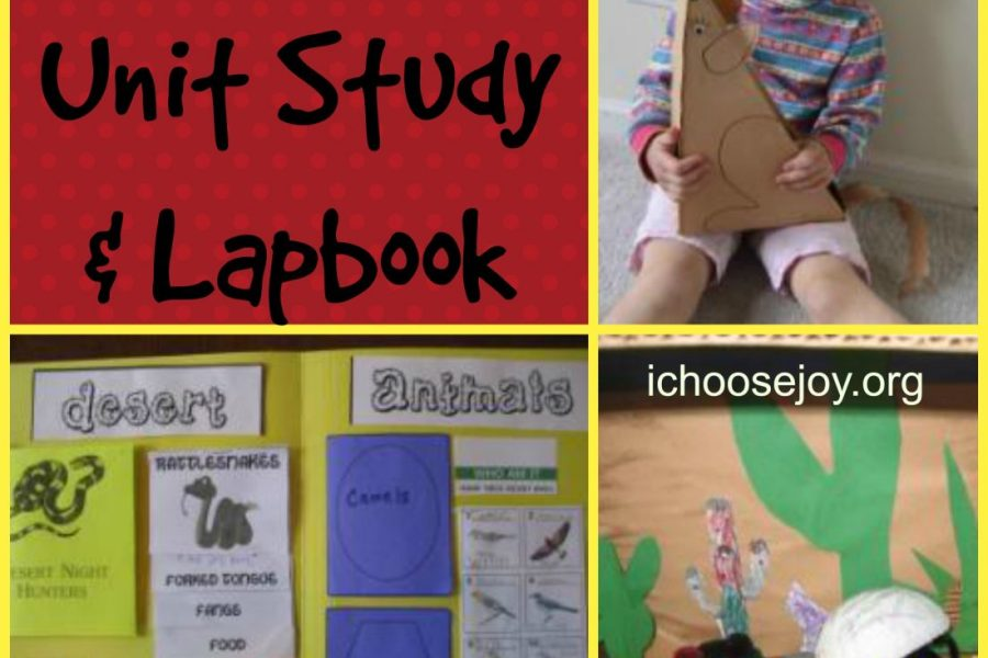 Deserts Unit Study & Lapbook