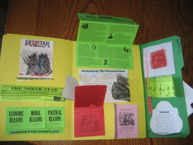 Civil War Lapbook from Homeschool in the Woods. We love this history curriculum to supplement our history studies in our homeschool!