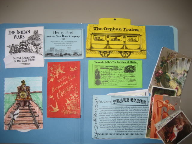 Industrial Revolution through Great Depression lapbook from Homeschool in the Woods ~ I Choose Joy!