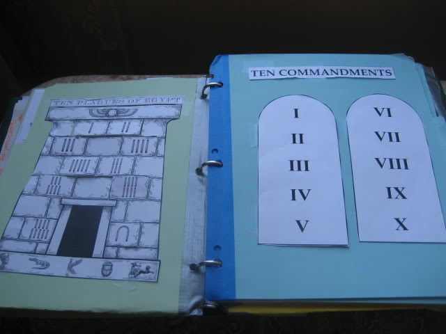 Old Testament Lapbook from Homeschool in the Woods