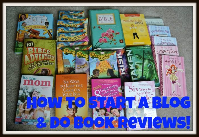 How to Start a Blog and Do Book Reviews