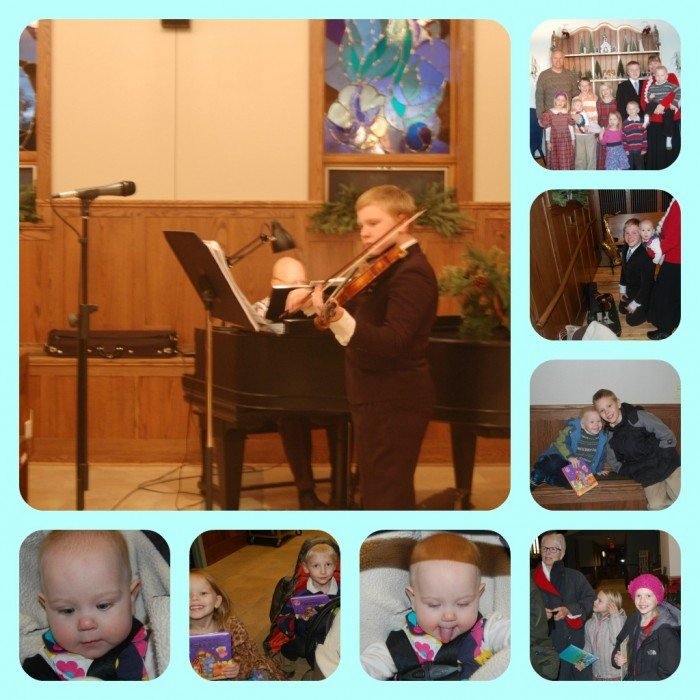 PicMonkey Collage Violin at Church