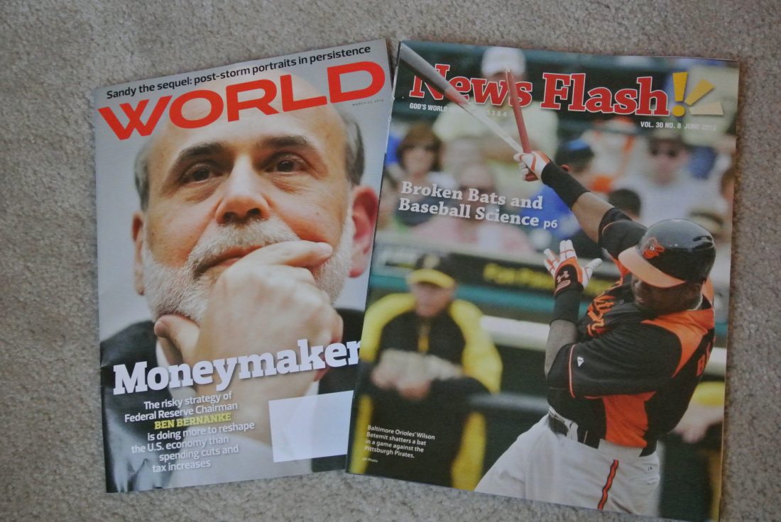 God's World News and World Magazine Subscriptions