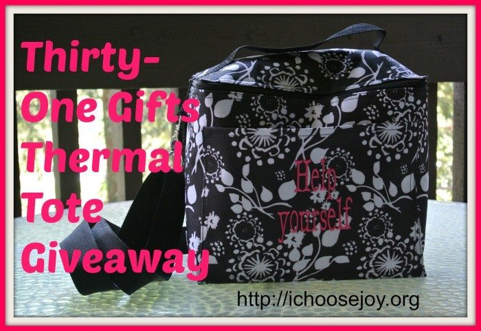 Thirty-One Gifts Thermal Tote