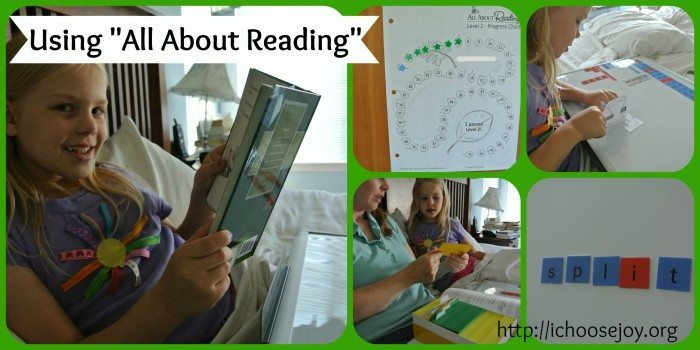 All About Reading Collage 2