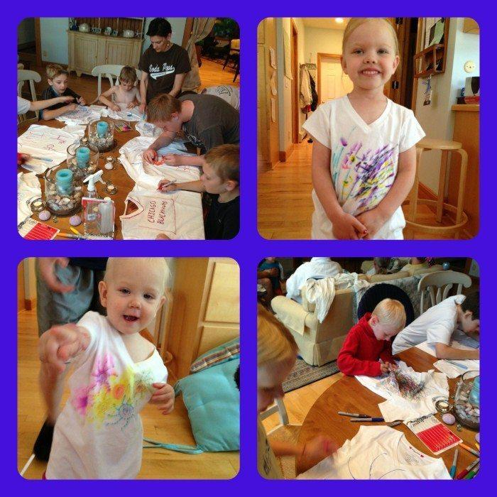 PicMonkey Collage decorating t-shirts
