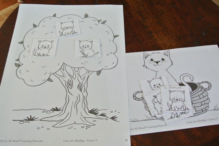 All About Reading activity sheets 012