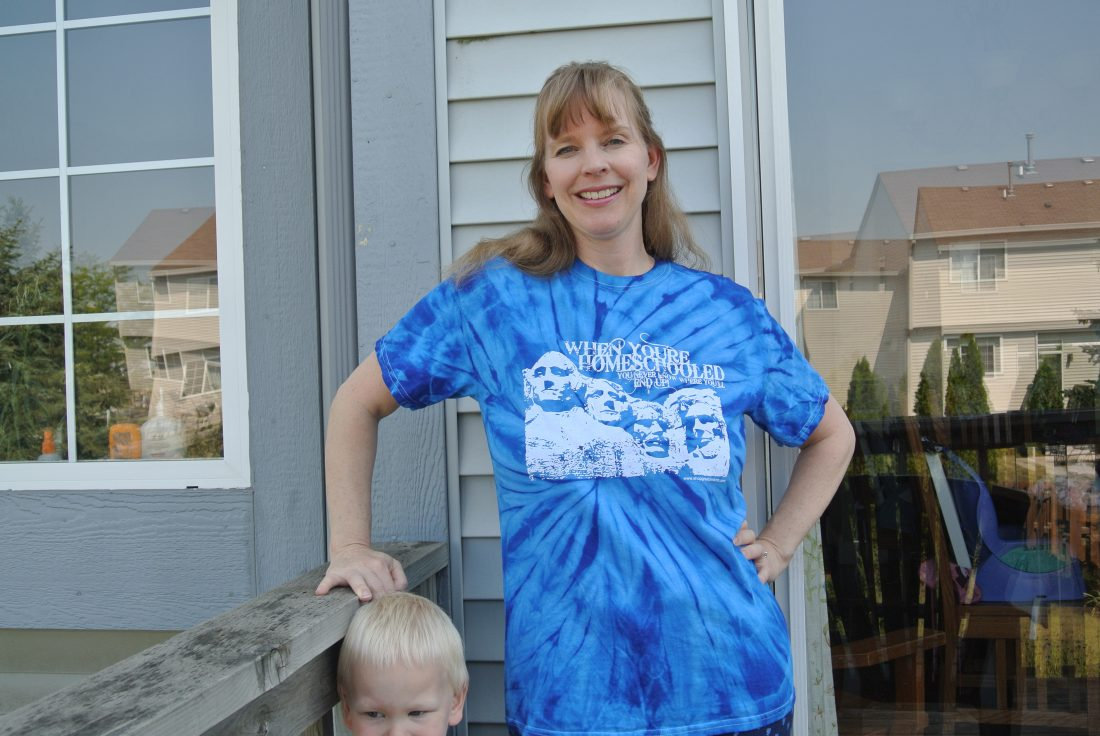 Review/Giveaway of Homeschool T-Shirt and $5.99 Sale!