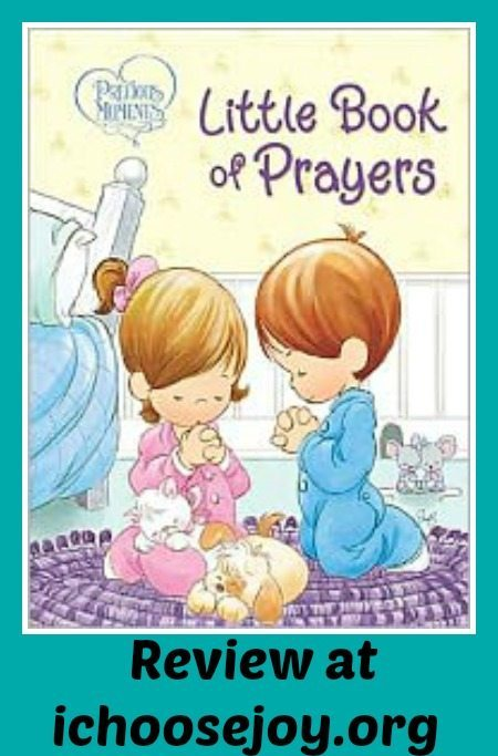 "Review ""Precious Moments Little Book of Prayers"""