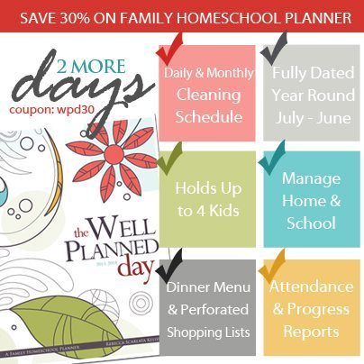 Review/Giveaway of Well-Planned Day Student Planner