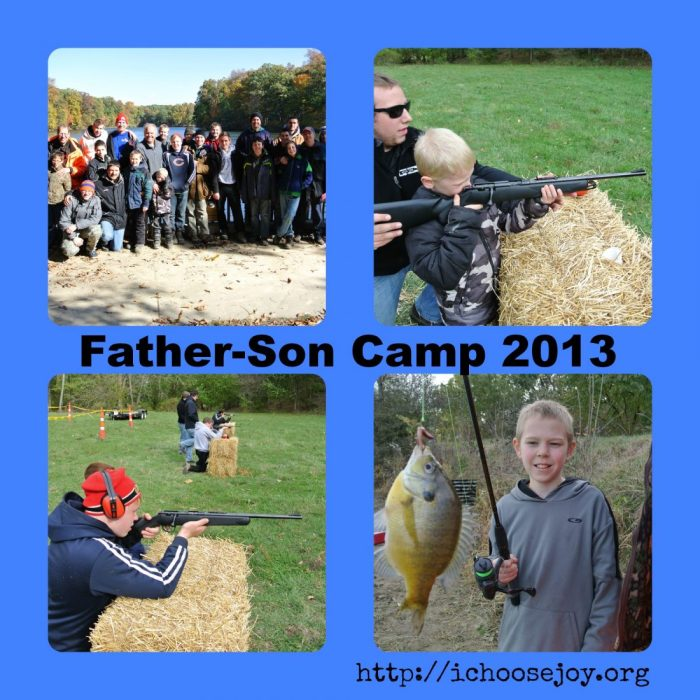 Father  Son Camp Collage 2