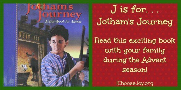 J is for Jothams Journey