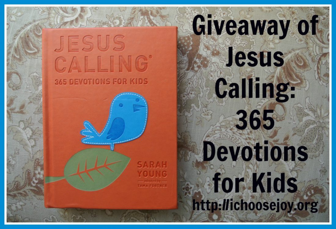 """Review/Giveaway """"Jesus Calling: 365 Devotions For Kids"""" by Sarah Young"""