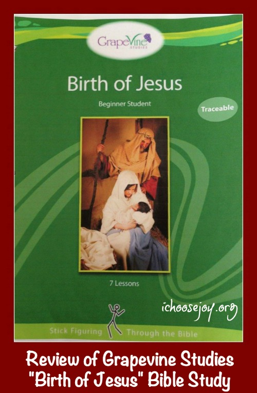"Review of Grapevine Studies ""Birth of Jesus"" Bible Study"