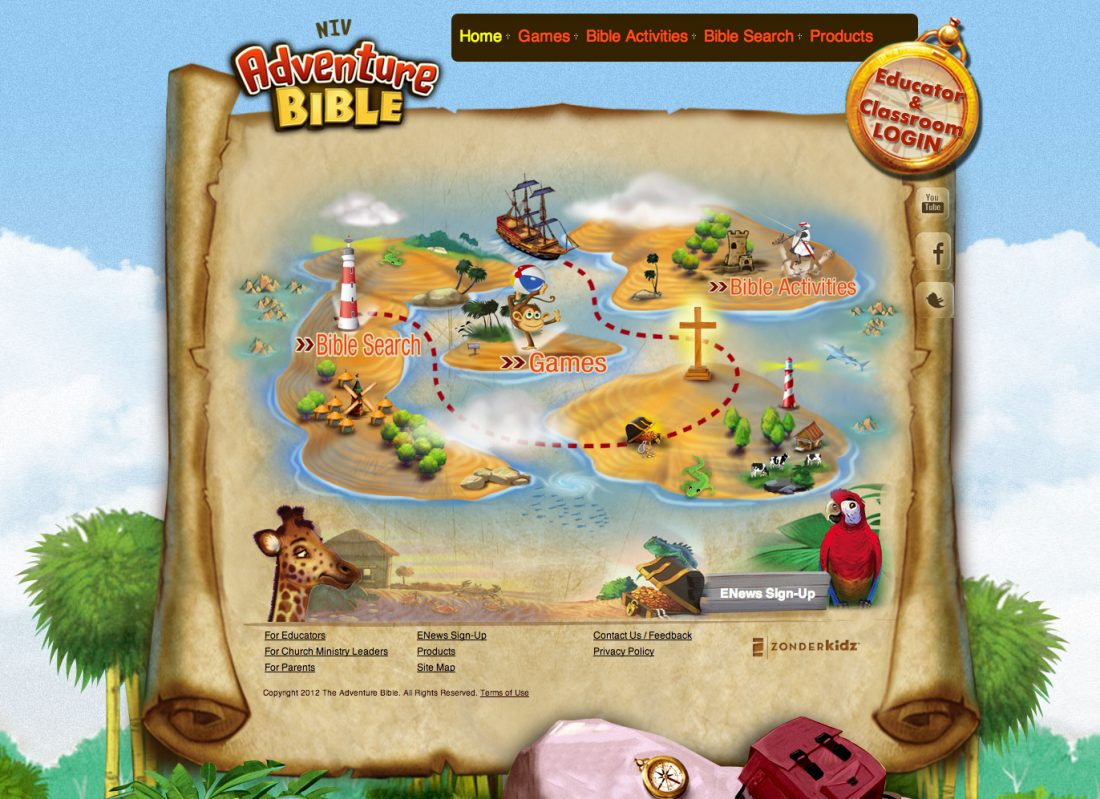 Review of Adventure Bible Website and App & {Link Party}