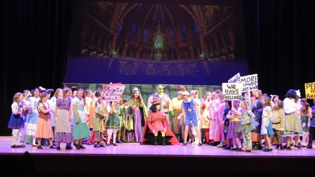 From House to Home {Link Party}: Shrek the Musical