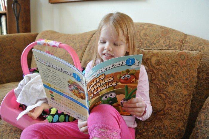 Veggie Tales readers 001