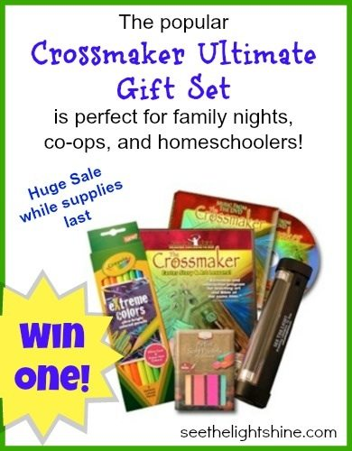 "Giveaway/ Special of See the Light's ""Crossmaker"" Gift Set"