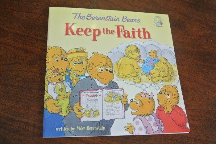 Book reviews- Daniel, Noah, Berenstain Bears Keep Faith, Veggie 018