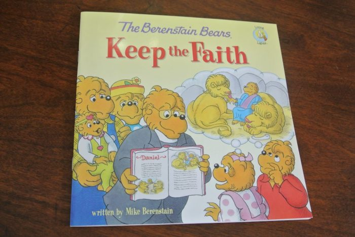 Book reviews- Daniel, Noah, Berenstain Bears Keep Faith, Veggie 018