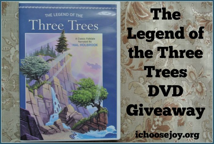 The Legend of the Three Trees giveaway