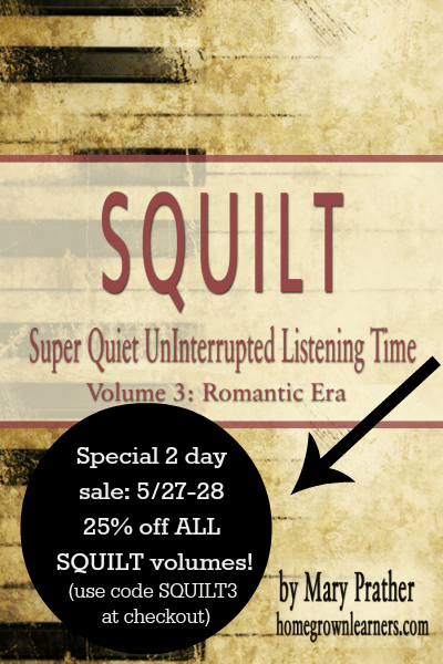 SQUILT Music Curriculum Volume 3 is out–and on sale!