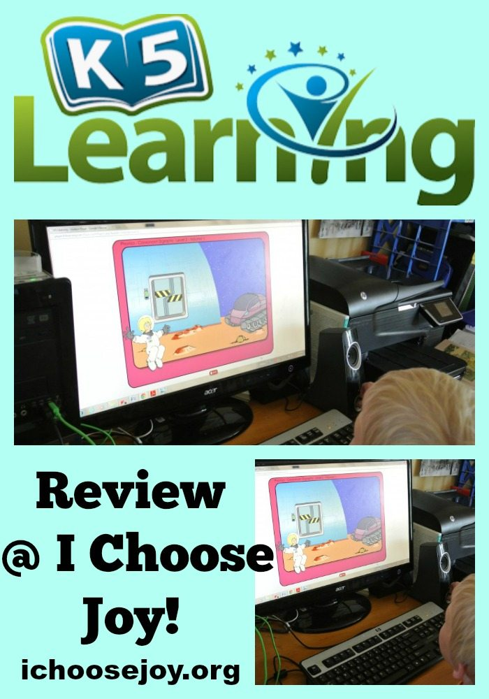 Review K5 Learning website