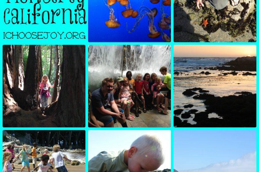 Monterey California vacation