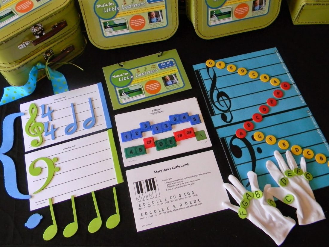 Review Music for Little Learners Kit #1