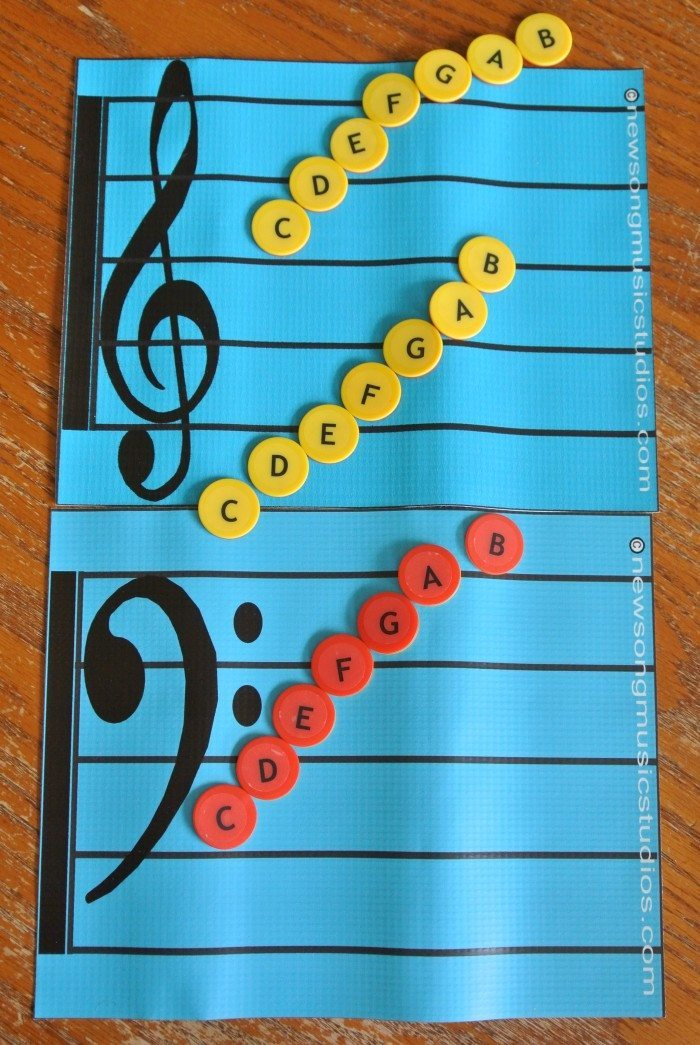 Music for Little Learners Kit Hands-On Resources for Piano #pianolessons #preschoolmusic #elementarypiano #musiclessonsforkids #musicinourhomeschool