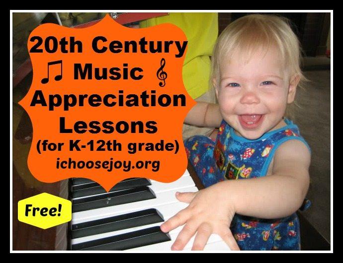 20th Century Music Appreciation free