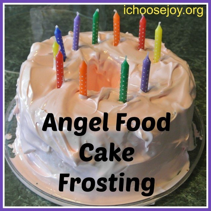 Angel Food Cake Frosting Recipe