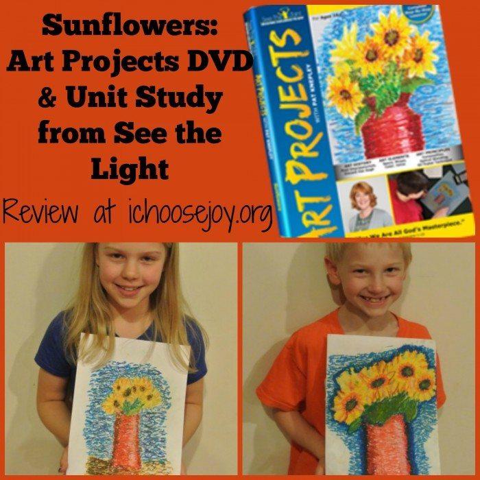 See the Light Sunflowers Art DVD