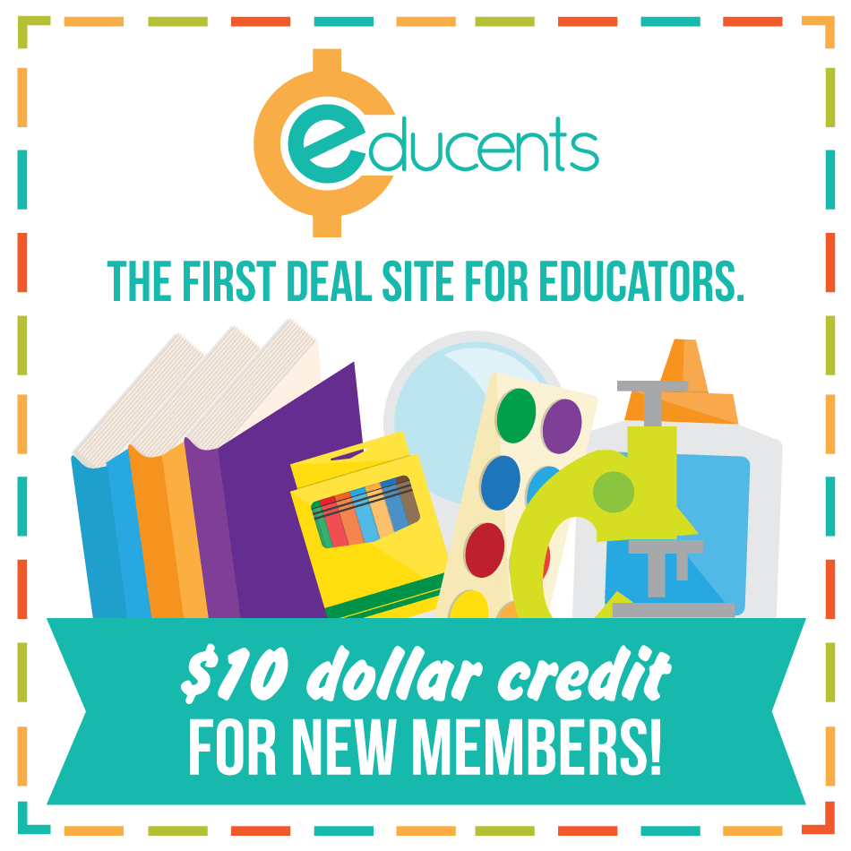Get $10 Just for Signing Up at Educents!