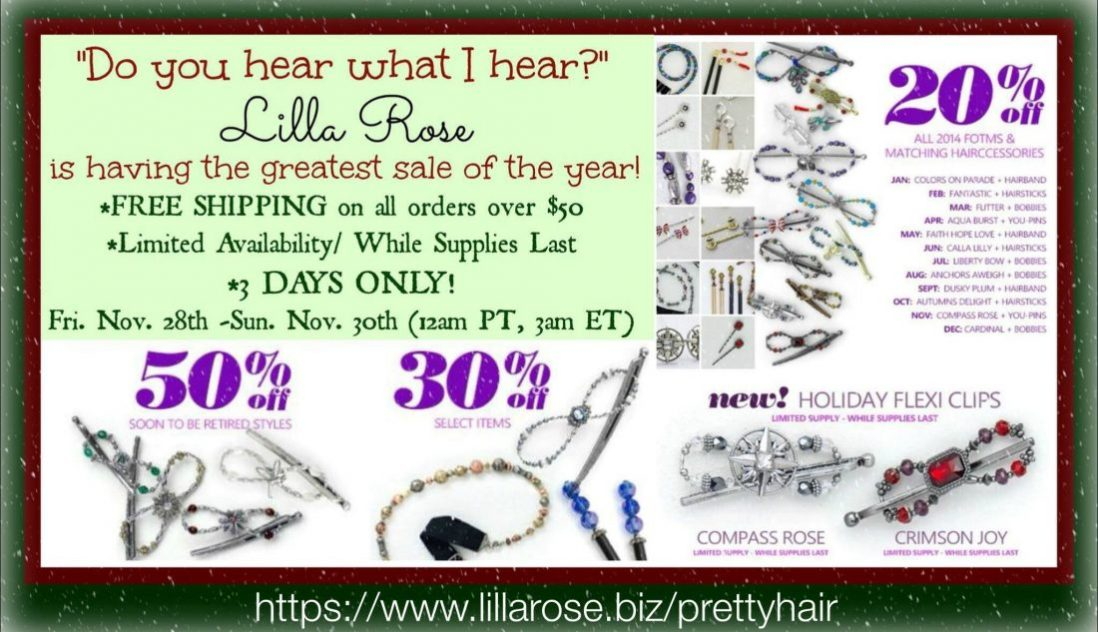 Lilla Rose Black Friday – Sunday Sale