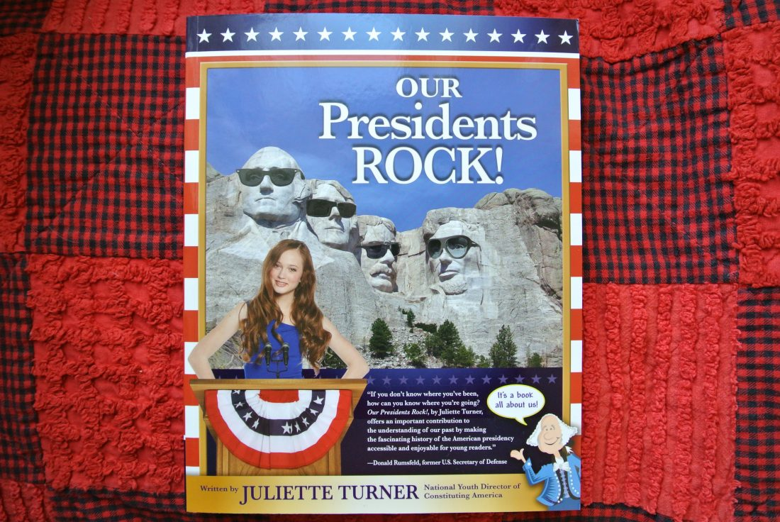 Review: Our Presidents Rock! by Juliette Turner