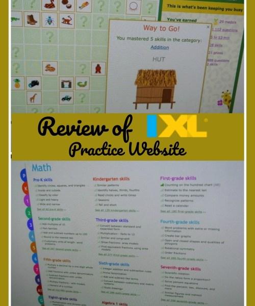 IXL Website Math and Language Arts Review