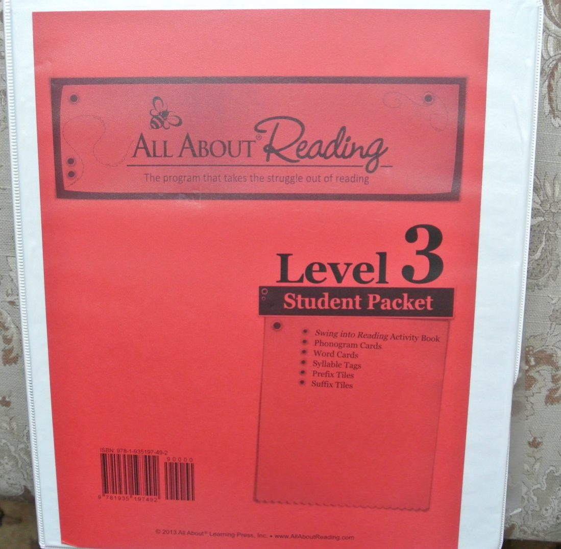 How to Set Up an All About Reading/Spelling Notebook