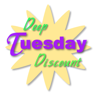 T-Tapp Deep Discount Tuesday specials: January 20