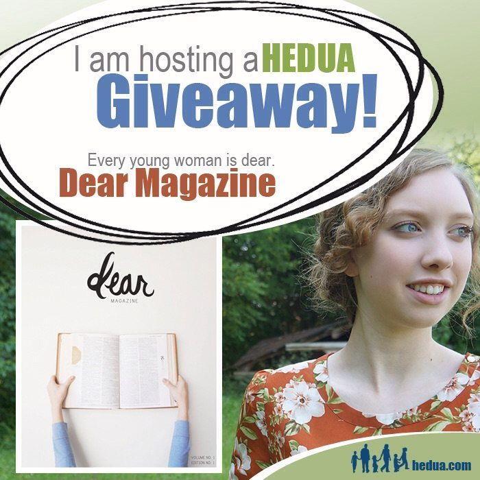 """Giveaway: Subscription to """"Dear Magazine"""""""
