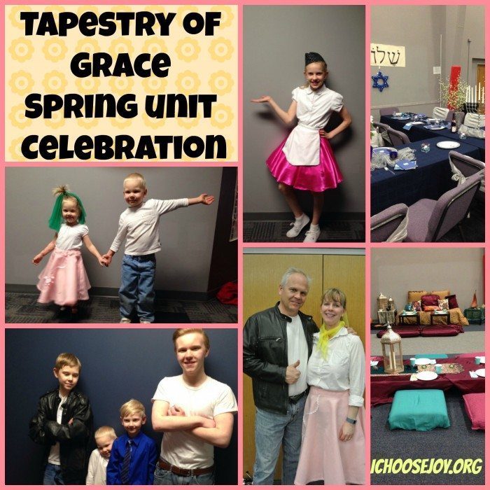 Tapestry of Grace Spring unit celebration