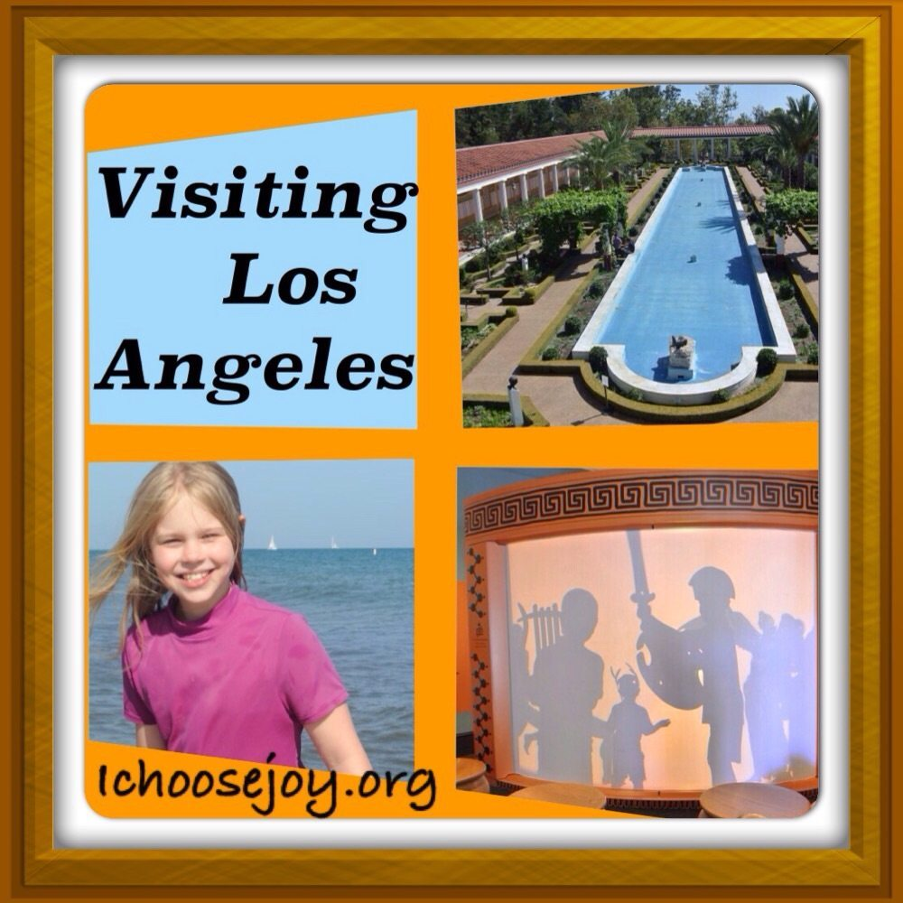 Vacation Scrapbook: Visiting Los Angeles