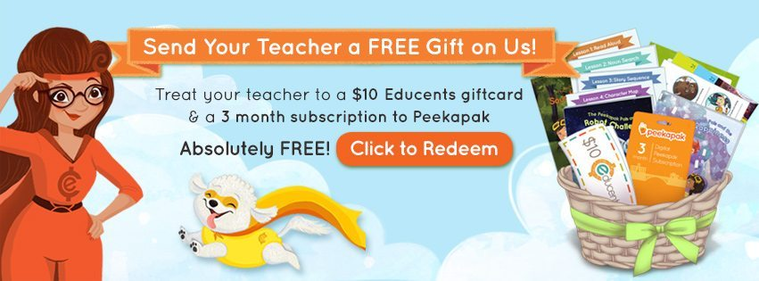 Educents Teacher Appreciation–Free Gift!